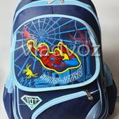 Школьный рюкзак для мальчиков Spider Man синий 3420
