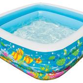 Надувной басейн или манеж 159х159х50 см. Голубая Лагуна Intex