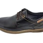Туфли подростковые Multi-Shoes Footwear Mell черные