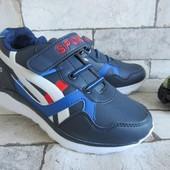 Легкие синие кроссовки 31 и 34 р