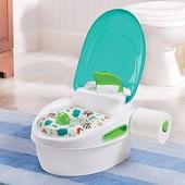 Summer детский горшок 3 в 1 накладка на унитаз + подставка infant step by step potty neutral