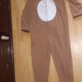 Слип, человечек, кегуруми, домашний костюм. Очень большой размер. Флисовый