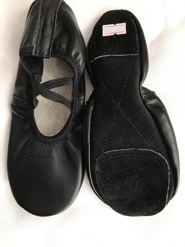 Балетки кожаные для танцев белые и черные,красные ,золотистые,серебристые. фото №1