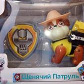 набор щенячий патруль+значок,на выбор герои