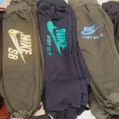 Детские спортивные штаны на флисе для мальчиков и девочек рост 92-152 см (возраст 2-12 лет)