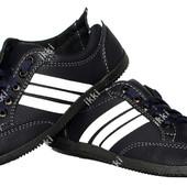 Мужские демисезонные кроссовки синего цвета (БЛ-01сб)