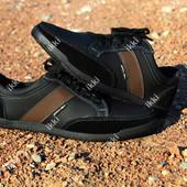 Кроссовки мужские черного цвета отличного качества (БЛ-02чкз)