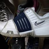 Фирменные кожаные кроссовки 47,5 р Nike