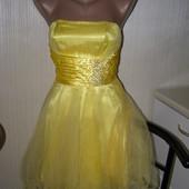 Платье нарядное корсет+ пышная юбка XS-S-размер