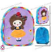 Детский рюкзак для девочки, регулируемые лямки, 30х22см, sm12