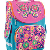 553341 Ранец каркасный 1 Вересня  Smart   Butterfly