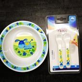 Набор посуды для кормления детей Canpol Babies