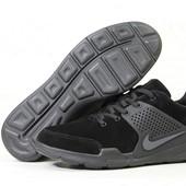 Кроссовки мужские Nike Air Presto black, замш