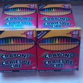 Восковые мелки Crayons-48 шт.