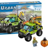 Конструктор Bela 10638 Разведывательный грузовик исследователей вулканов urban
