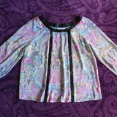 Красивая модная разноцветная блуза из Сша