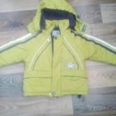 Курточка на флисе  б/у