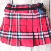 Теплая юбка на девочку Next 1-1,5года.