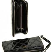 Женский кожаный кошелек клатч Cossroll на молнии В наличии разные модели