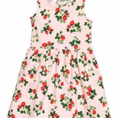 Сарафан для девочки H&M, размер 4-6 лет