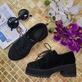 Актуальные ботинки Asos на массивной подошве с фактурным верхом  SH2928
