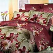 Комплект постельного белья 7901, микросатин