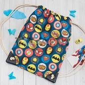 Детский рюкзак мешок Супергерои