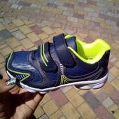 Кроссовки для мальчика  фирмы Tom m размер 27,29,30 синие