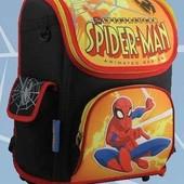 Ранец школьный каркасный  Spider-Man 12-502 для мальчика 1-4 кл