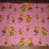 Детское одеяло 100х130 см