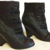 Кожаные стильные туфли бренда Sam Edelman р. 39 стелька 25,5 см