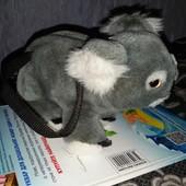 Сумочка- игрушка мишка- коала как новая