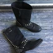 Идеальные ботинки-сапоги с клёпками Англия Р-Р 36