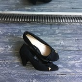 Стильные туфли на устойчивом каблуке Р-Р 39
