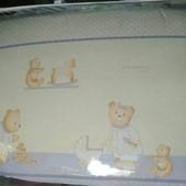 Детское полнокомплектное постельное 7 предметов