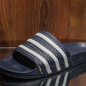 Тапочки мужские adidas original размер 42-43- стелька 27см состояние отличное