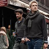 Стильный мужской свитерок-пуловер от Tcm Tchibo, Германия, размер М