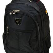 Школьный рюкзак для мальчика, черный (5228)