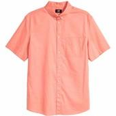 рубашка мужская Regular fit H&M Англия размеры м-хл