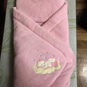 Одеялко-конверт для малышки