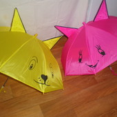 зонтик с ушками и свистком