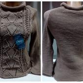 Женский легкий ажурный свитер 44-48 размер