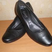 Туфли Gabor р.39-40, стелька 25,5 см Кожа Словакия