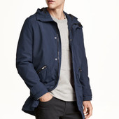 Куртка мужская нейлон-парка, H&M, L ветровка