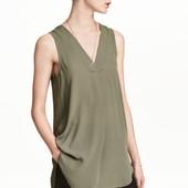 Креповая блузка, H&M, XS, L