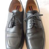 Мужские кожаные туфли Lloyd р.47(12) дл.ст  31,5 см