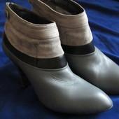 Кожаные ботинки 39-38 размера