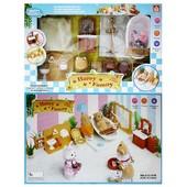 Набор мебели Happy Family для ванной комнаты (012-07B)