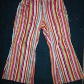 Стильные джинсы на 2-4 года