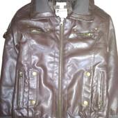 Куртка кож.зам на 7-8 лет